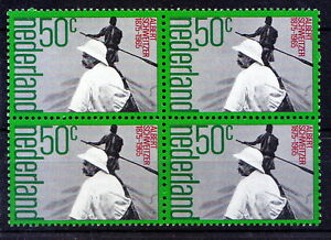 Netherlands-1975-MNH-Blk-4-Schweitzer-Medicine-Nobel-Peace-Missionary-A2
