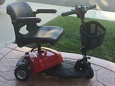 NEW Drive Bobcat 3 Wheel Mobility Scooter Compact Transportable Lightweight