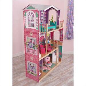 Kidkraft Magnolia Mansion Dollhouse With Furniture Toy Ebay
