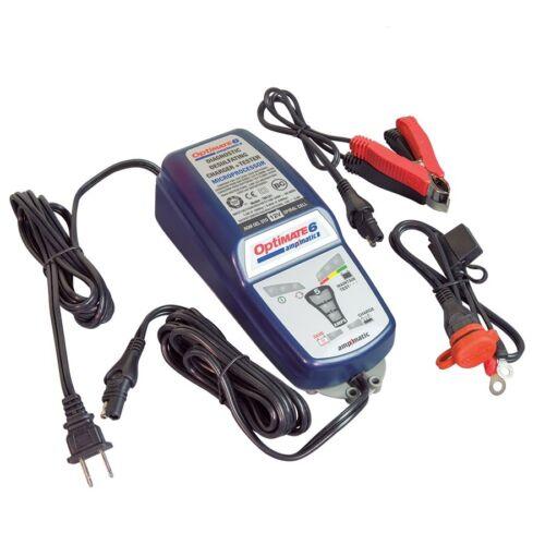 Chargeur Optimate 6 12V 5A  testeur mainteneur avec récuperation de batterie