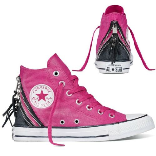 4 alte rosa Star Uk taglia 5 triplo donna zip All con Scarpe Converse da da ginnastica fTzqqBW6H