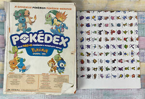Nintendo Pokedex Berater Diamant Perl Edition -Alle 482+8 Pokemon Infos + Poster