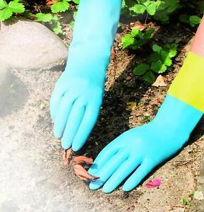 3x-Leifheit-Handschuh-Ultra-Strong-M-Gummihandschuhe-Spuelhandschuhe-Reinigung