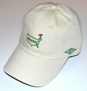 2019 MASTERS 1934 Collection CORE LOGO (IVORY) SLOUCH Golf HAT from AUGUSTA