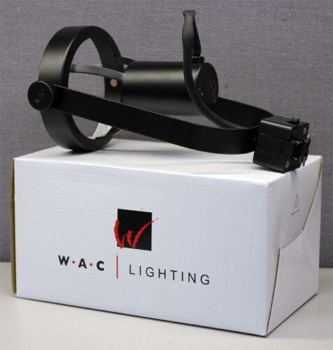 WAC Lighting JTK-764-BK Line Voltage Medium Front Loading Gimbal Ring Track Head