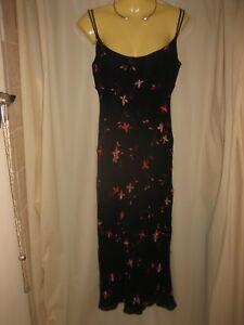 George-Beautiful-Gatsby-Miss-Fisher-Silk-Dress-Plus-Chiffon-Top-Size-8-12
