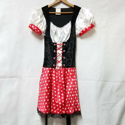 Miss Minnie Mouse Costume Adult Polka Dot Dress We