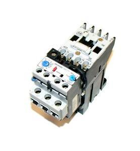 Allen bradley motor starter overload assembly 12 amp 100 for Allen bradley motor overload