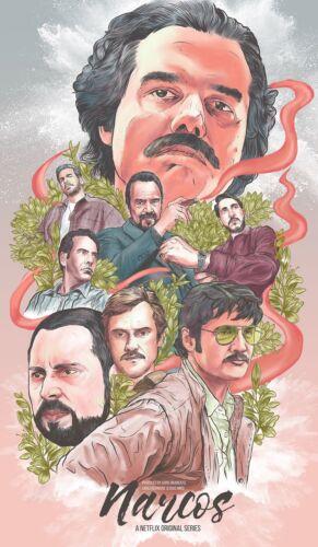 Narcos Netflix TV Series Poster Print T1184 A4 A3 A2 A1 A0|