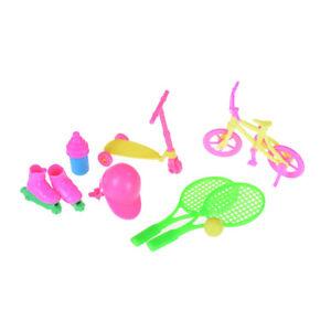 1Set-Bicycle-Tennis-Skating-Shoes-Helmet-Sport-Accessory-For-House-LJ-J-AU