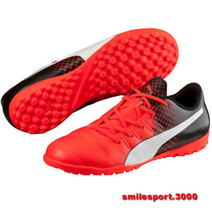 Details about Scarpe calcetto Puma evoPOWER 4.3 TRICKS TT 103588_003 EVO POWER Red White Black