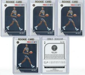 x5-BOL-BOL-2019-20-Hoops-Rookie-Card-RC-lot-set-In-Gold-Top-Loaders-Nuggets-Mint