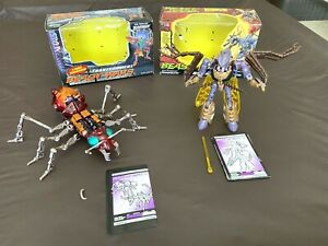 Transformers Beast Wars Lot!! ***TRANSQUITO & SCAVENGER*** w/ manuals & boxes!!!