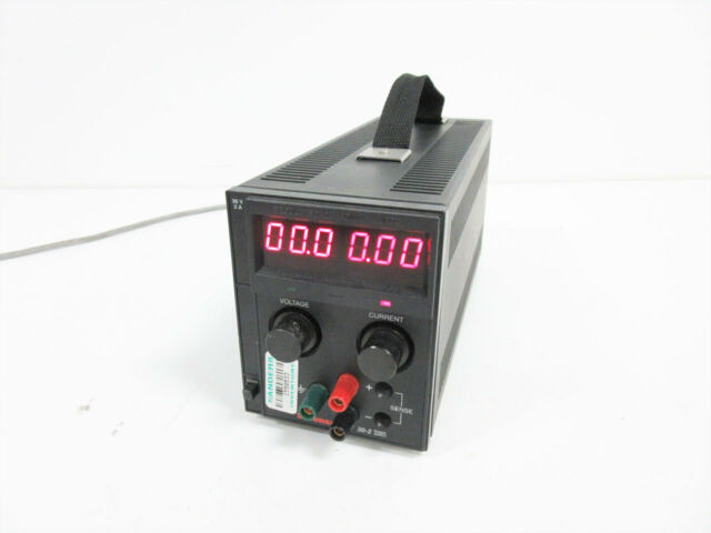 SORENSEN XT 30-2 PROGRAMMABLE DC POWER SUPPLY 30 V @ 2 A 60W