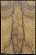 Ziricote x Knife Scales x Cut Slab x Rare x With Mostly Landscape Figured ZIKS25