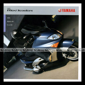 Brochure Yamaha ★ 500 T-max, Majesty 400, X-max 250 2007 ★ Catalogue #bm111 2eocafia-08001245-439239033