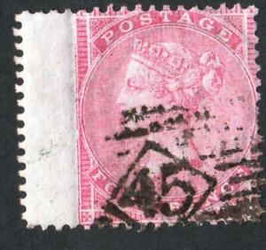 Royaume-uni-N-18-VICTORIA-FOUR-PENCE-USED-CV-100-year-1855-57
