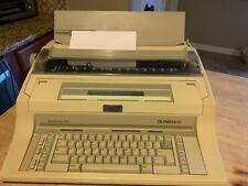 Olympia Supertype 330 Electronic Office Typewriter Working See Pictures
