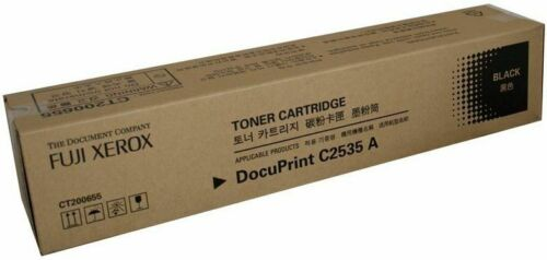 Fuji Xerox GENUINEORIGINAL CT200655 Black B BK Laser Toner Cartridge C2535 A