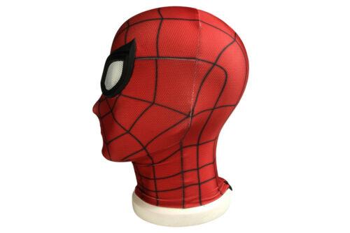 Game SPIDERMAN PS4 Spiderman Costume Superhero Cosplay Adult Halloween Costume