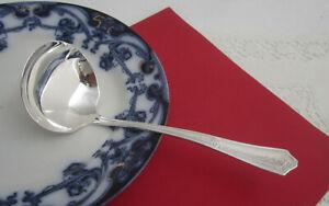 Vendome Bouquet silverplate  rcco S Butter Spreader