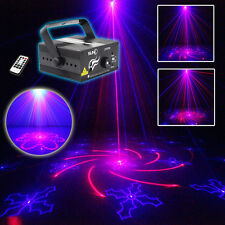 SUNY Laser Light Z40RB 40 Gobos RB Decoration Stage Show Blue LED DJ Party Event