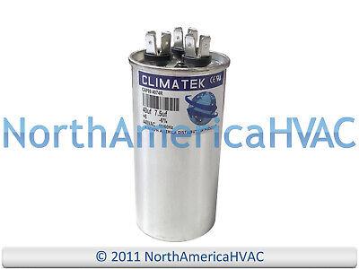 ClimaTek Round Capacitor fits Carrier # HC98JA042D 40//7.5 uf MFD 370//440 Volt VAC