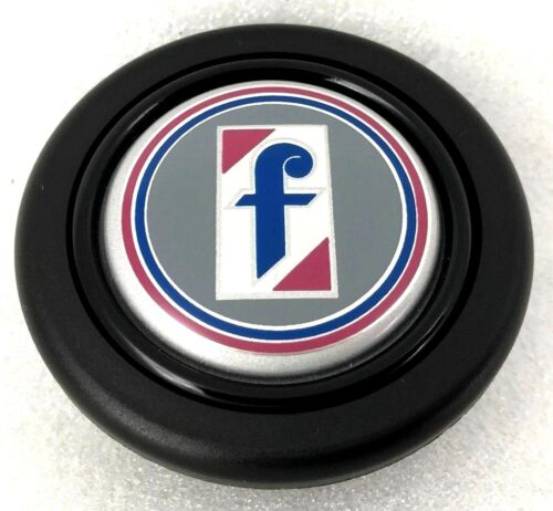 Pininfarina logo steering wheel horn push button Fits Momo Sparco OMP Raid etc