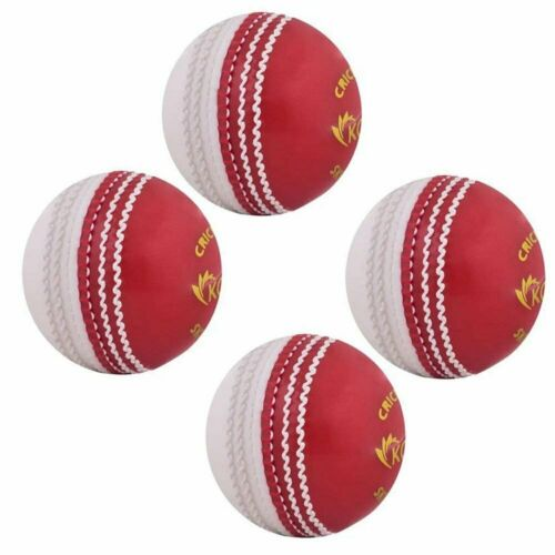 Kosma Set of 4 Cricket Ball Poly SoftSoft cricket Skill BallCoaching Train