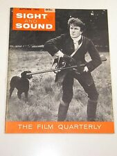 Sight and Sound Magazine:Albert Finney-Tom Jones;John Houseman; Autumn 1962
