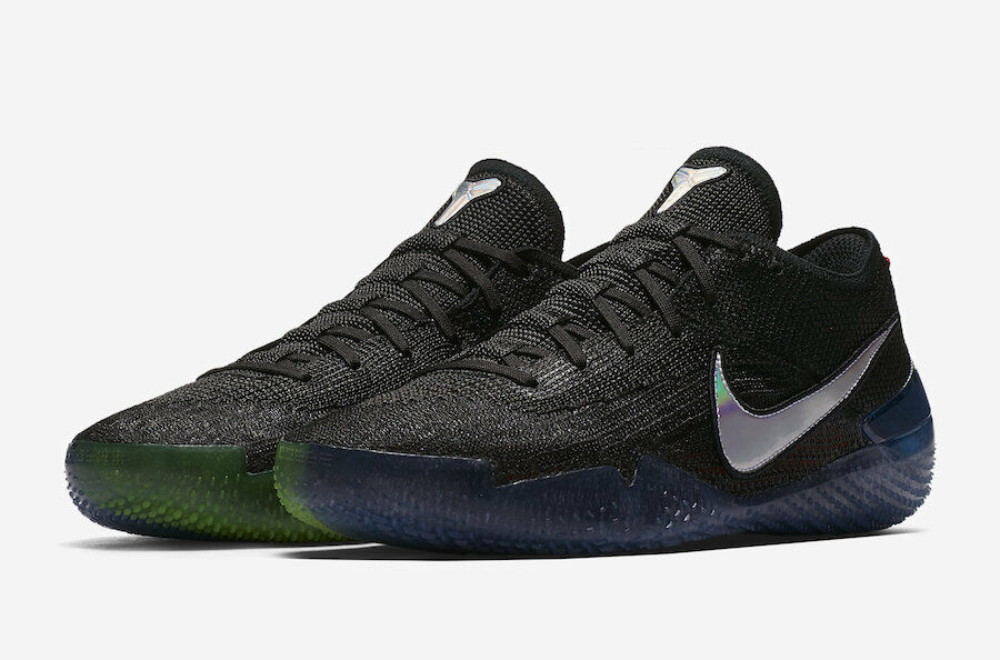 Nike MEN'S Kobe AD NXT 360 Black Multi-color SIZE 10.5 BRAND NEW Mamba Day