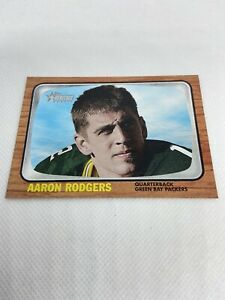 2005 Topps Heritage Aaron Rodgers Foil Rookie Card Variation #THC27 RC #Y120