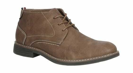 IZOD Men's Inwood Chukka Boot Dark Tan Synthetic