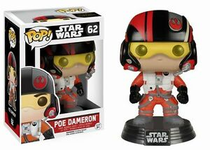 Star-Wars-The-Force-despierta-Poe-Dameron-3-75-034-Vinilo-Bobble-Head-Figura-POP-FUNKO