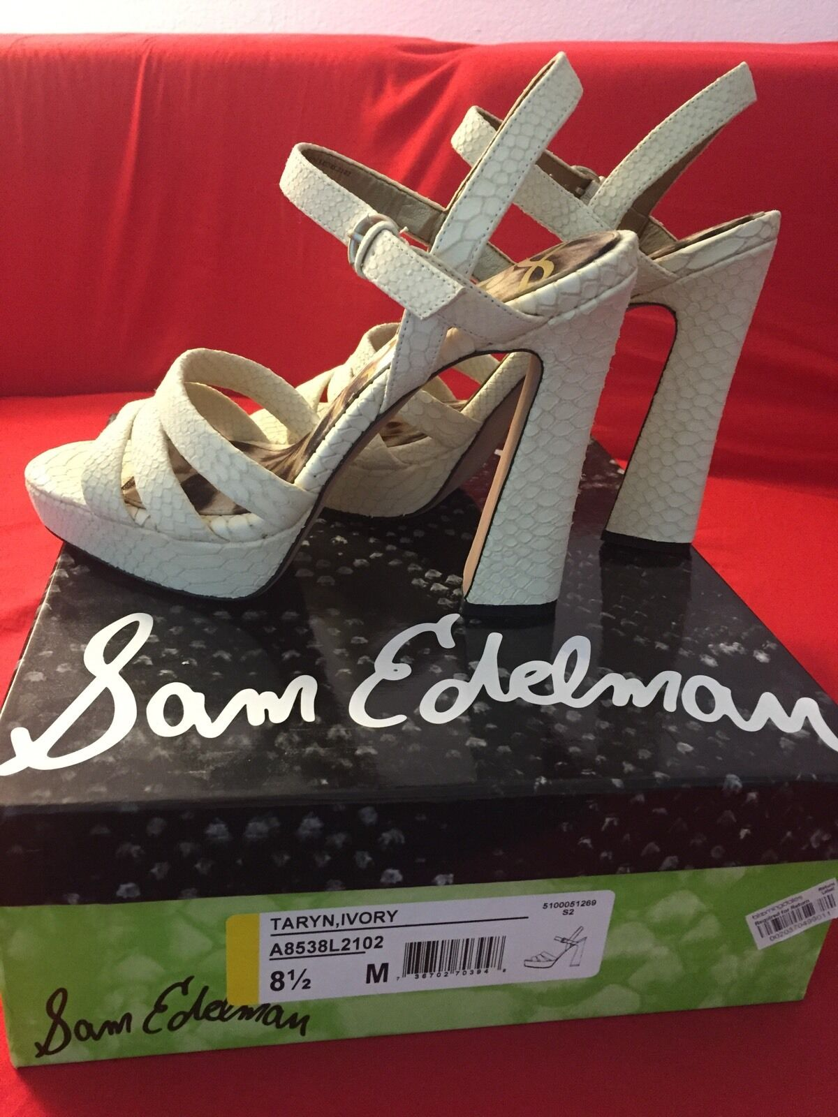 SAM EDELMAN shoes Women Size 8.5 New With Box