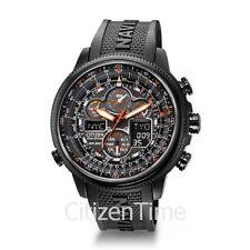 -NEW-Citizen Navihawk Atomic Timkeeping Eco-Drive Watch JY8035-04E