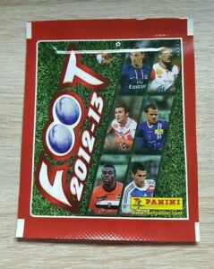 Panini 1 Bag Foot 2012 2013 Bustina Pack sobre Pochette Ligue 1 12 13 France