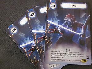 Star Wars Destiny Isolation x2 Q4 Full Alternate Art PROMOS FFG