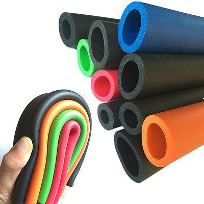 1M Sponge Foam Thermal Insulation Pipe Handlebar Fitness Rubber Tube Leggings