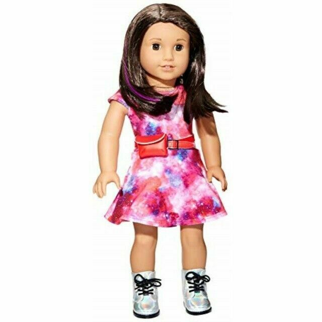 American Girl Doll 2018 Luciana Vega With Accessories 18 For Sale Online Ebay