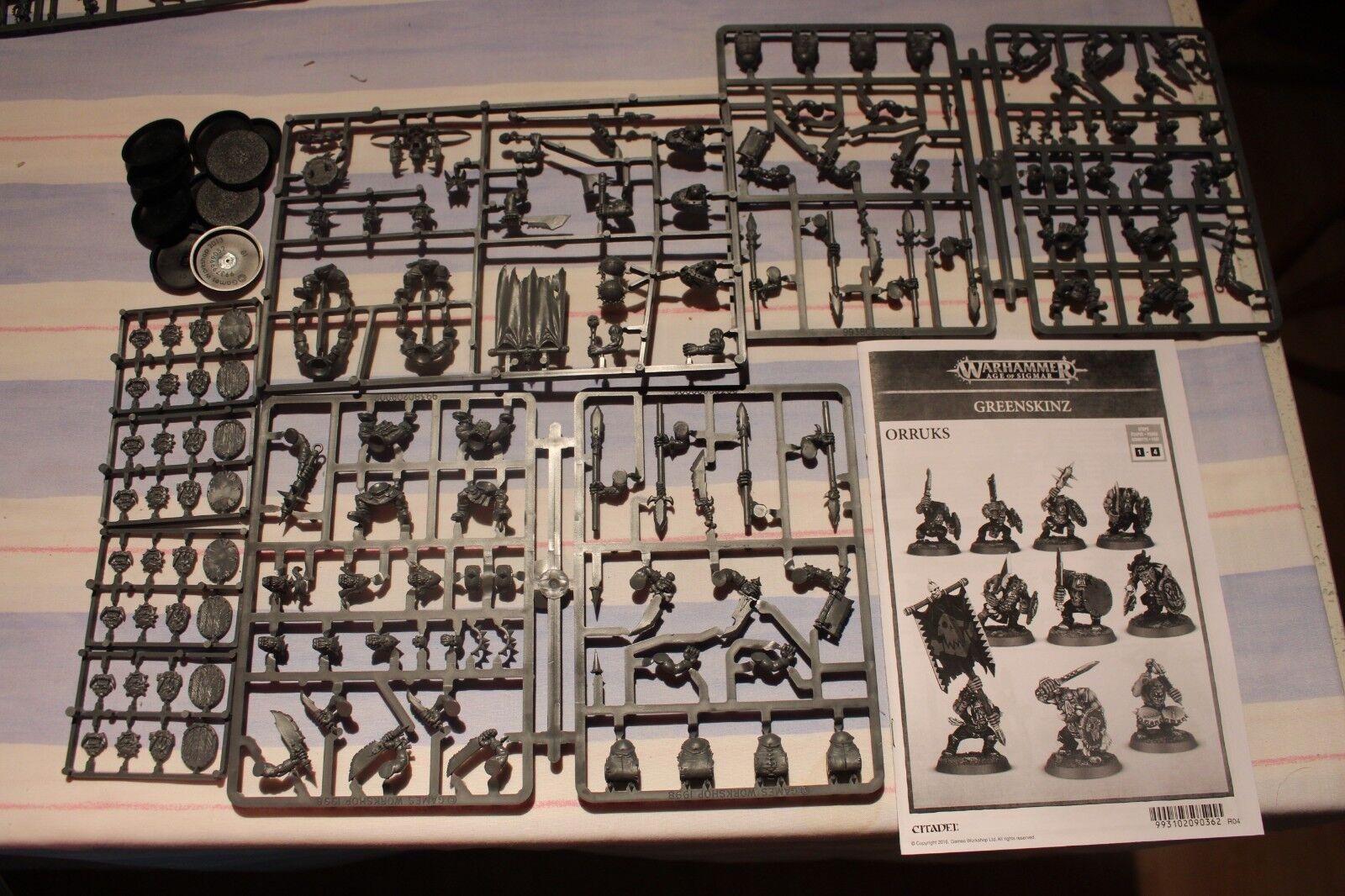 Games Workshop Warhammer Orruk Regiment Orruks Orcs BNOS New Boyz Boys Sigmar