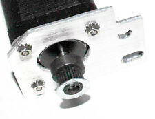 NEMA17 0.63A/68oz-in Stepper Motor with Belt Pulley - Lot of 10 (28M101)
