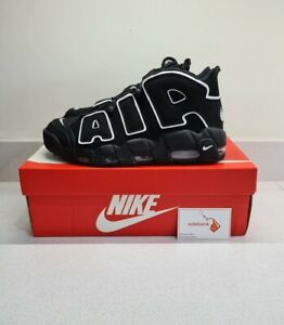 Nike Air More Uptempo Black/White 2020 - UK 9 - Brand New ✅ FAST&FREE SHIPPING ✅