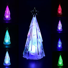 color changing christmas tree usb led table light creative decor nightlight dsuk