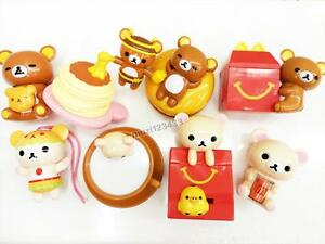 2017 Rilakkuma McDonald's Happy Meal Toys Completed 8 PCS