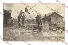 MILTON JUNCTION WISCONSIN TORNADO DAMAGE  - circa 1911 rppc Photo GRADE 5