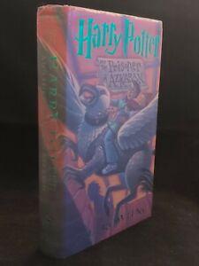 HARRY POTTER AND THE PRISONER OF AZKABAN J. K. Rowling Scholastic 1999 1st/1st
