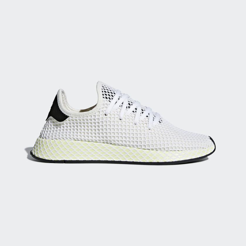 Adidas Originals Blanco Deerupt Runner Blanco Originals Negro Running Zapatos Hombre Gym 8ad42f