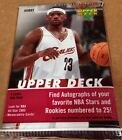 2005-06 Upper Deck Hobby Pack LeBron James Michael Jordan Paul Auto/Jersey?