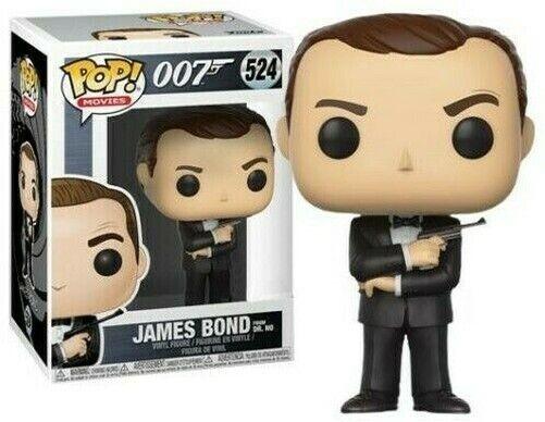 Funko Pop 007 James Bond From Dr. Pas De #524 Vinyl Figurine